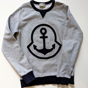 Moncler Junior Anchor Sweatshirt